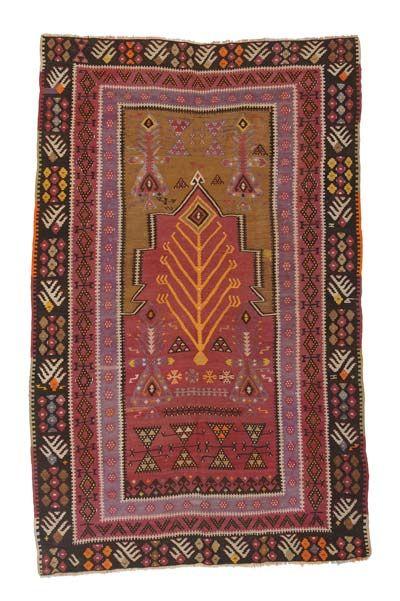 Kayseri Kilim Prayer Rug Around 80 Years Old Desenler Kilim Halilar
