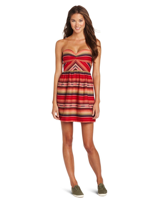 Amazon.com: Roxy Juniors Fall Doll Tube Dress: Clothing | Style ...