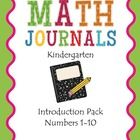 The first 5 weeks of math journals are already done for you! Simply print and use! Enjoy....