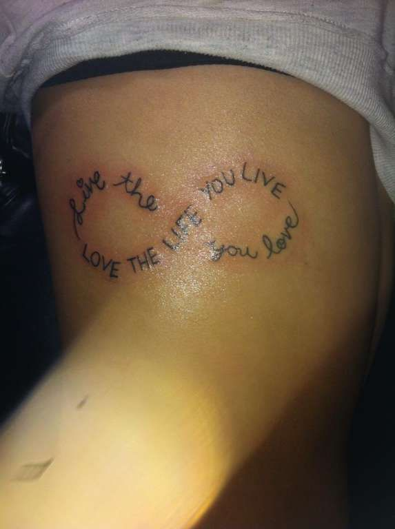 Girly Tattoos With Quotes