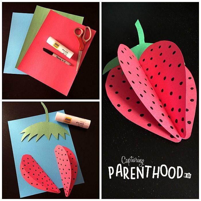 Photo of 3D Paper Fruits for Summer • Capturing Parenthood