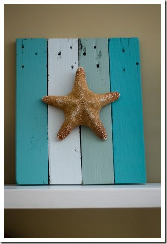 Pet Scribbles Starfish Decorations 10 Easy Diys Starfish Decor Pallet Home Decor Coastal Decor