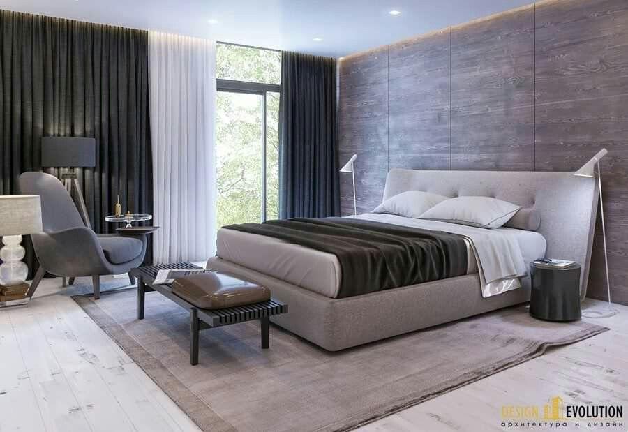 Graues Schlafzimmer, Moderne Einrichtung, Loft Schlafzimmer,  Hauptschlafzimmer, Avantgarde, Schöne Schlafzimmer, Designelemente,  Schlafzimmer Ideen, ...