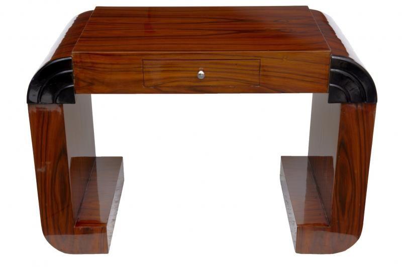 Vintage Desk Art Deco Writing Table Bureau Plat 1920s Furniture