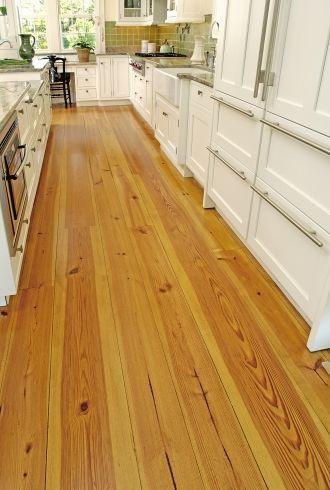 Heart Pine Kitchen Carlisle Wide Plank Flooring