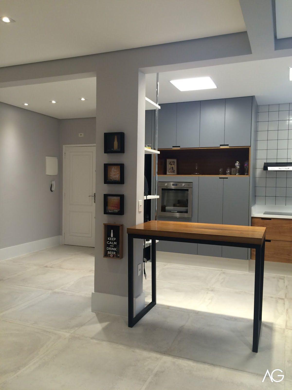 Ag Arquitetura E Interiores Cozinhas Modernas Balcao Cozinha