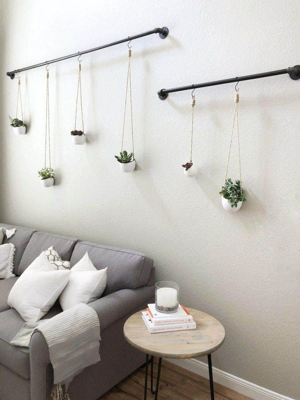 30 Cute Succulent Decoration Ideas For Living Room Trenduhome Creative Wall Decor Cheap Wall Decor Wall Decor Bedroom Hanging decor living room