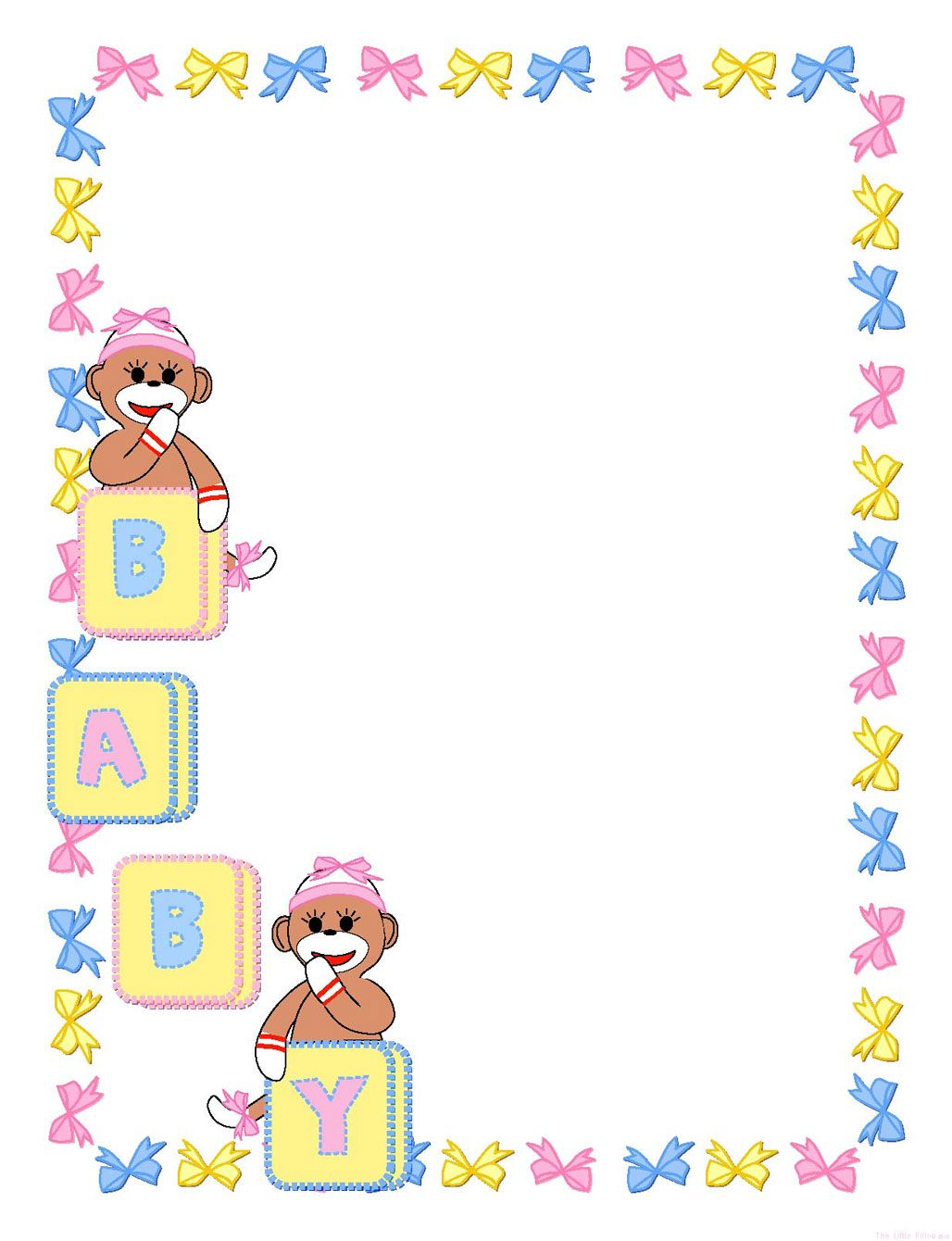 clipart baby shower pinterest - photo #50