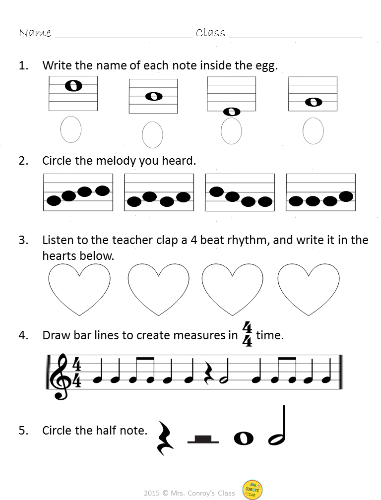 Pin On Music Assessments