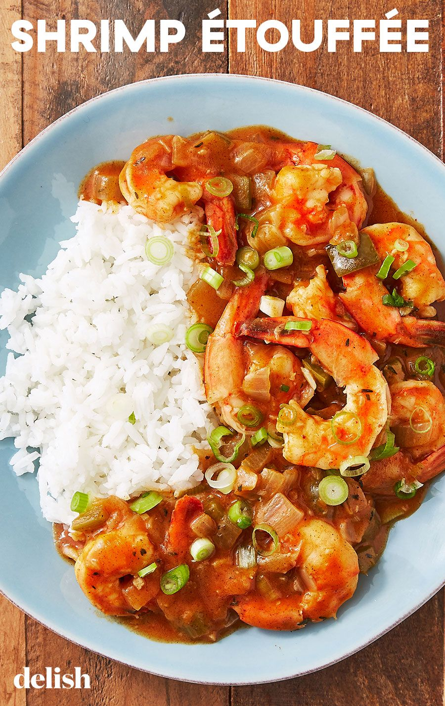 Shrimp Etouffee Our New Favorite Way To Cook Shrimp Recipe Etouffee Recipe Shrimp Dishes Louisiana Recipes