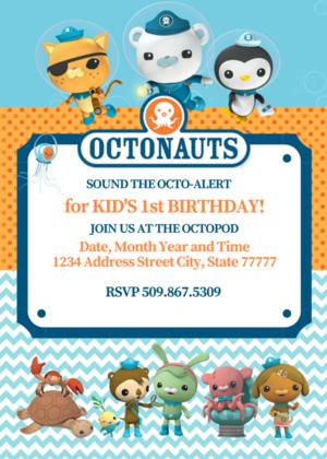 octonauts birthday octonauts party