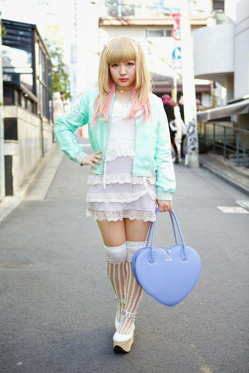 e3b405a2875 Kawaii Tokyo Fashion... The whole outfit is simple