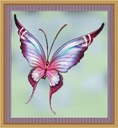 Beautiful Butterfly Designs Flutters Cross Stitch Patterns
