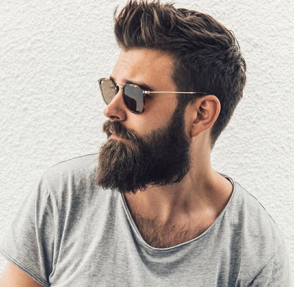 Mens haircuts with beards pin by az on beard style  pinterest  haircuts man hair and beard