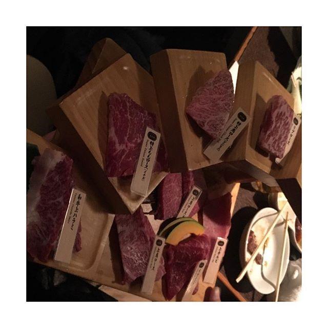 肉肉肉🍖🍖🍖 #山形牛#肉#山形牛一頭盛り#モリモリ食べる#幸せ#😋