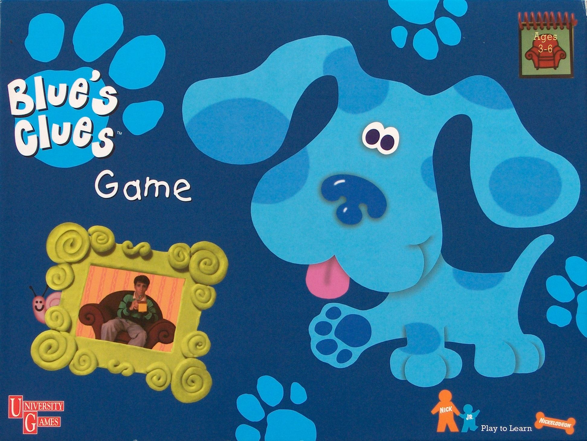 blue u0027s clues game co operative boardgames pinterest clue games