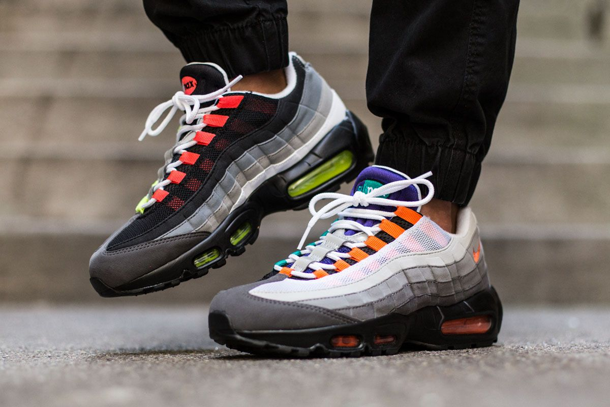 nike air max 95 multiple colorways