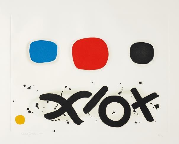 PHILLIPS : NY030214, Adolph Gottlieb, Imaginary Landscape