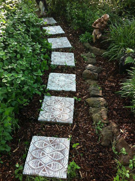 13 Dreamy Diy Garden Paths For Your Backyard Gardens And Gardening