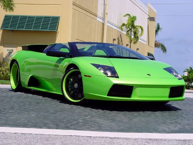 Vehicle · Lamborghini In Lime Green ...