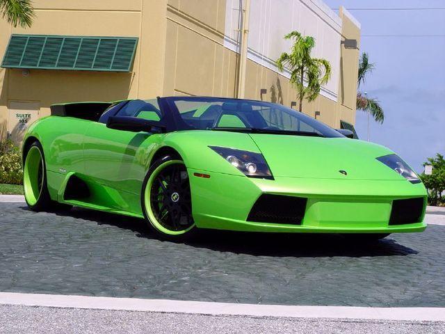 Vehicle · Lamborghini In Lime Green ...