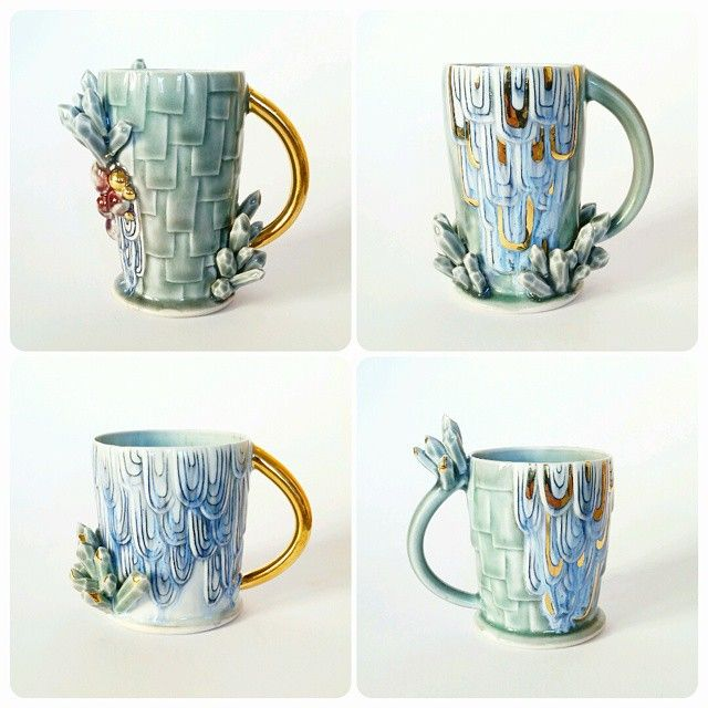 Silver linings ceramics @anotherseattleartist
