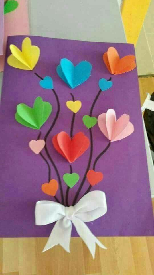 22 DIY Mothers Day Crafts for Grandma -   21 valentines crafts for kids ideas