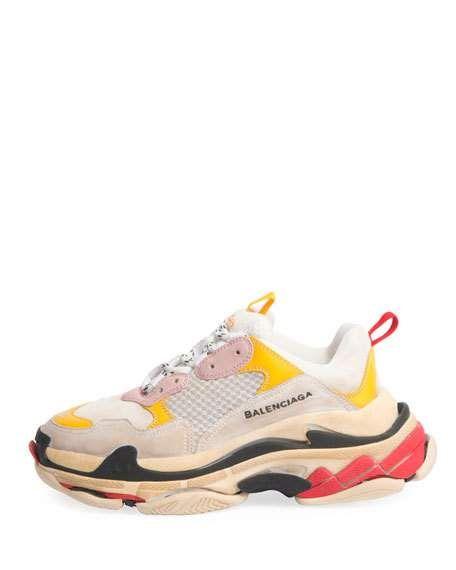 80fd8158c536 Triple Multicolor Platform Sneaker