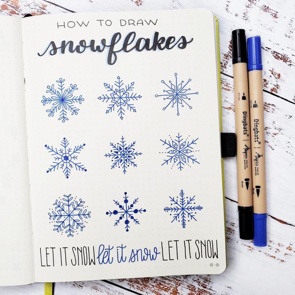 Dingbats* Notebooks on Instagram: Fun ways to draw