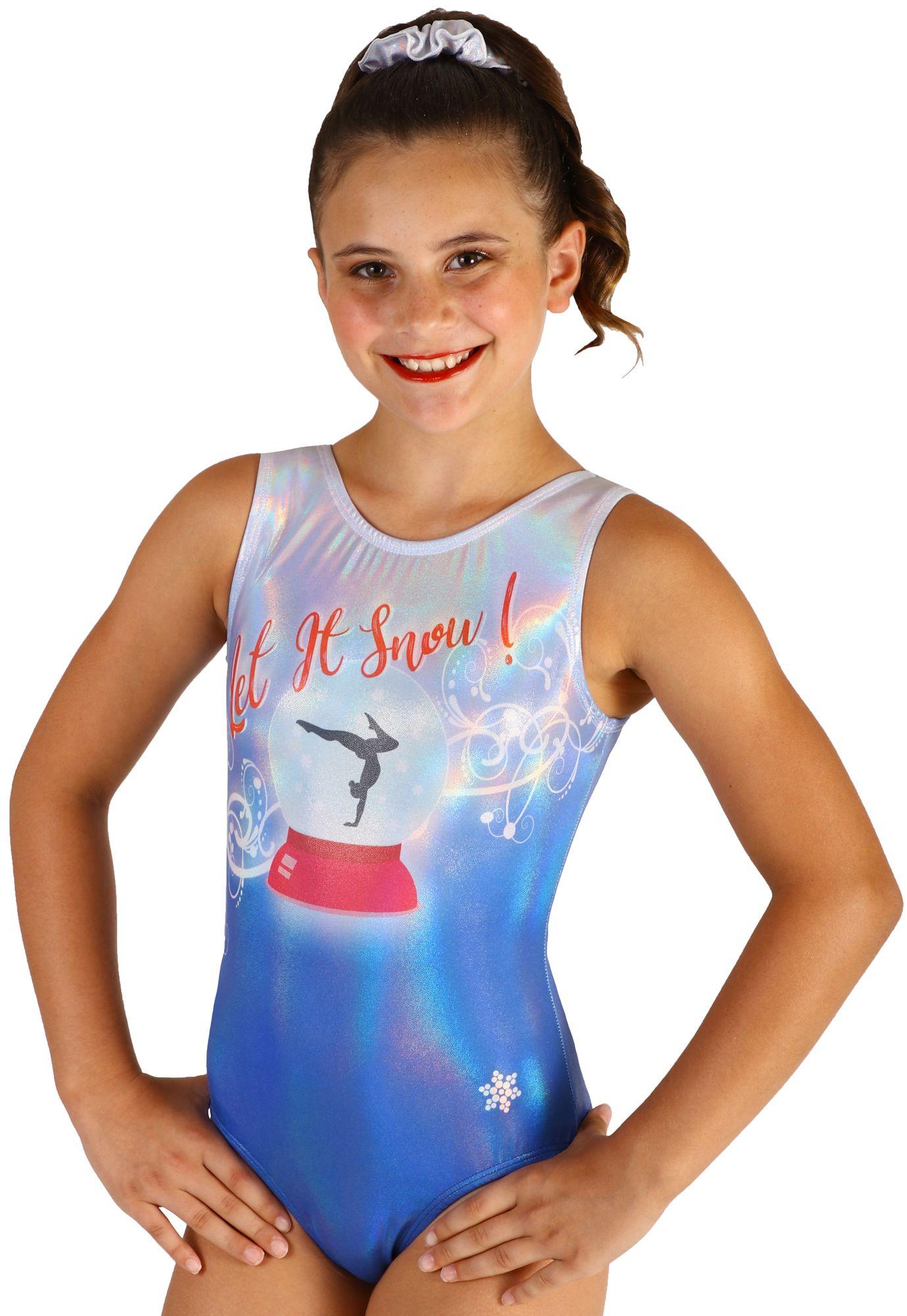 Joyful Gymnastics Leotard by Snowflake Designs NEW