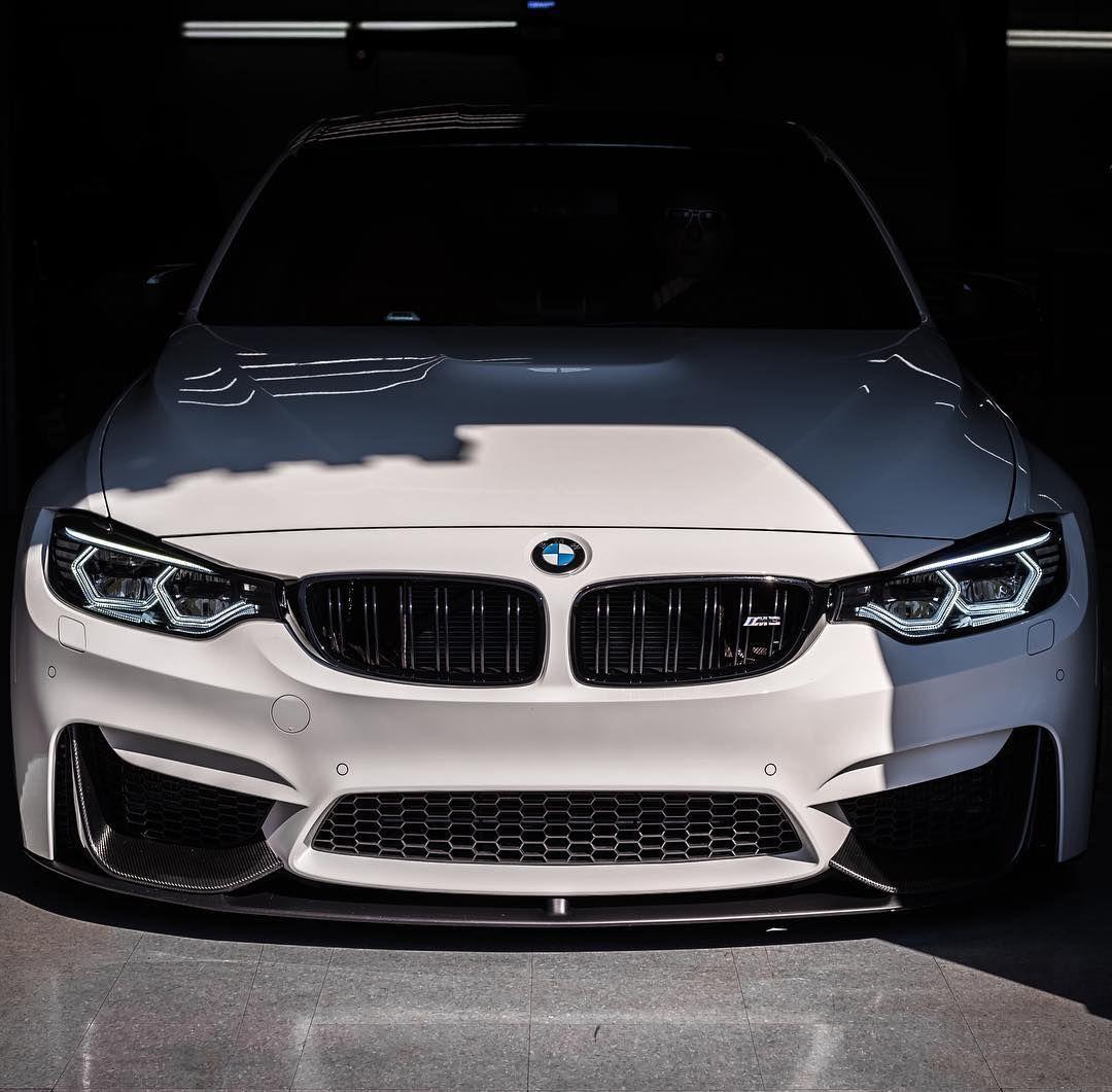 BMW F80 M3 Sedan With Modified Corona Ring LED Lights