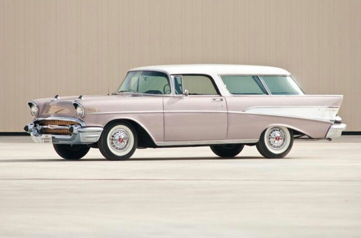 1957 Chevy Nomad Coches Modernos Autos Coches