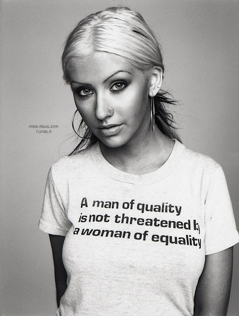 A man of quality is not threatened by a woman of equality! Yup!!!! I know a few men threatened by my confidence because it messes up their ways of controlling!