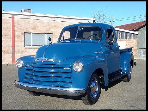 1953 Chevrolet 3100 Pickup 235 Ci 3 Speed Mecum Kansascity Classic Cars Trucks Classic Chevy Trucks Chevrolet Trucks