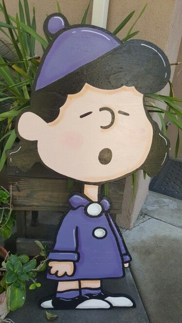 lucy christmas lawn sign - Peanuts Christmas Lawn Decorations
