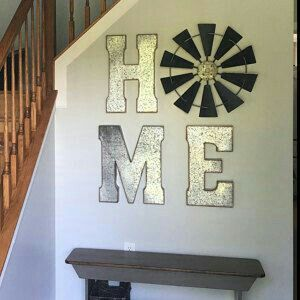 """But """"home"""" spelt out horizontally"""