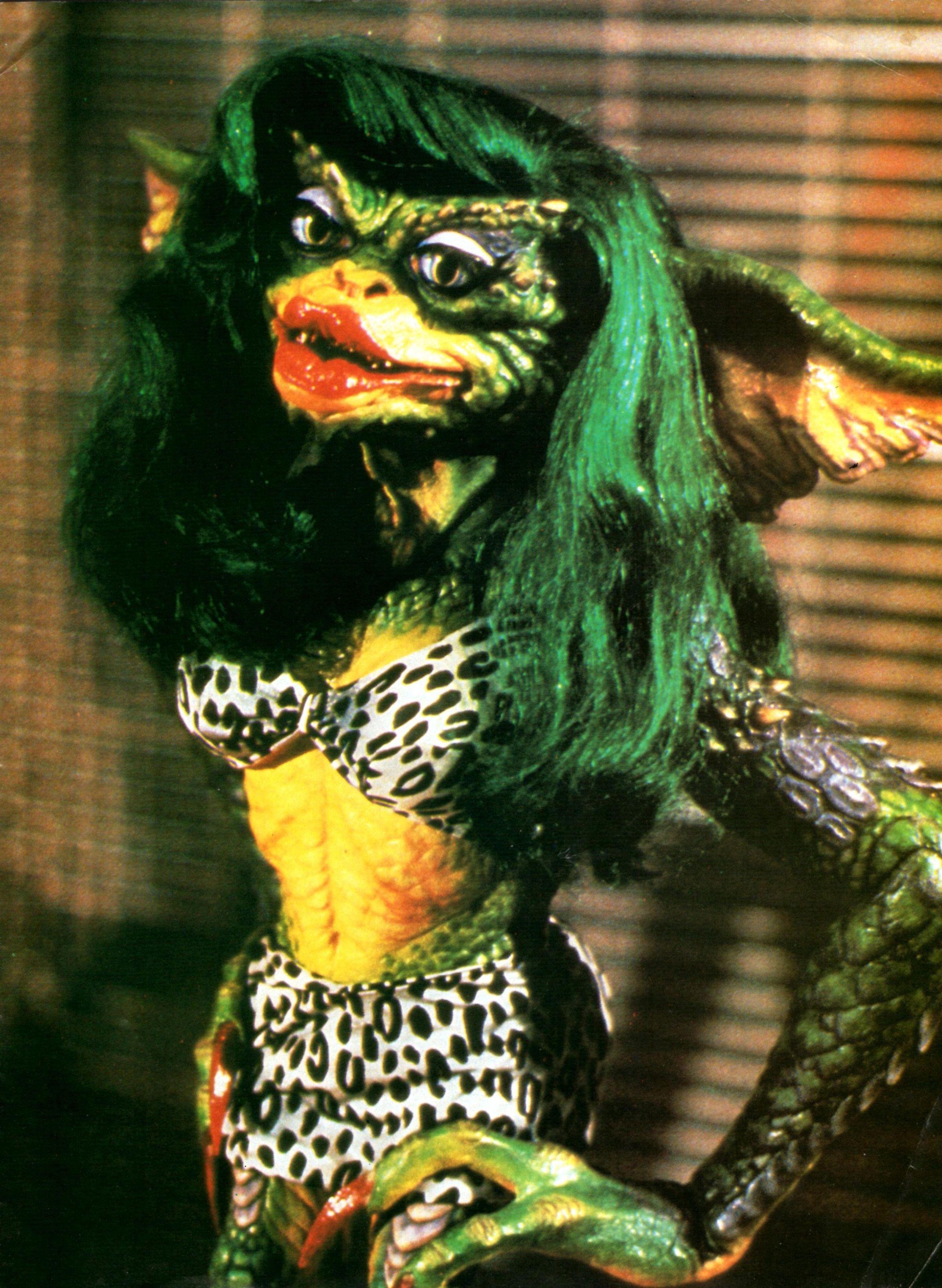 Movie: The Gremlins 2. Character: Lady Gremlin Greta. Cosplayer ...