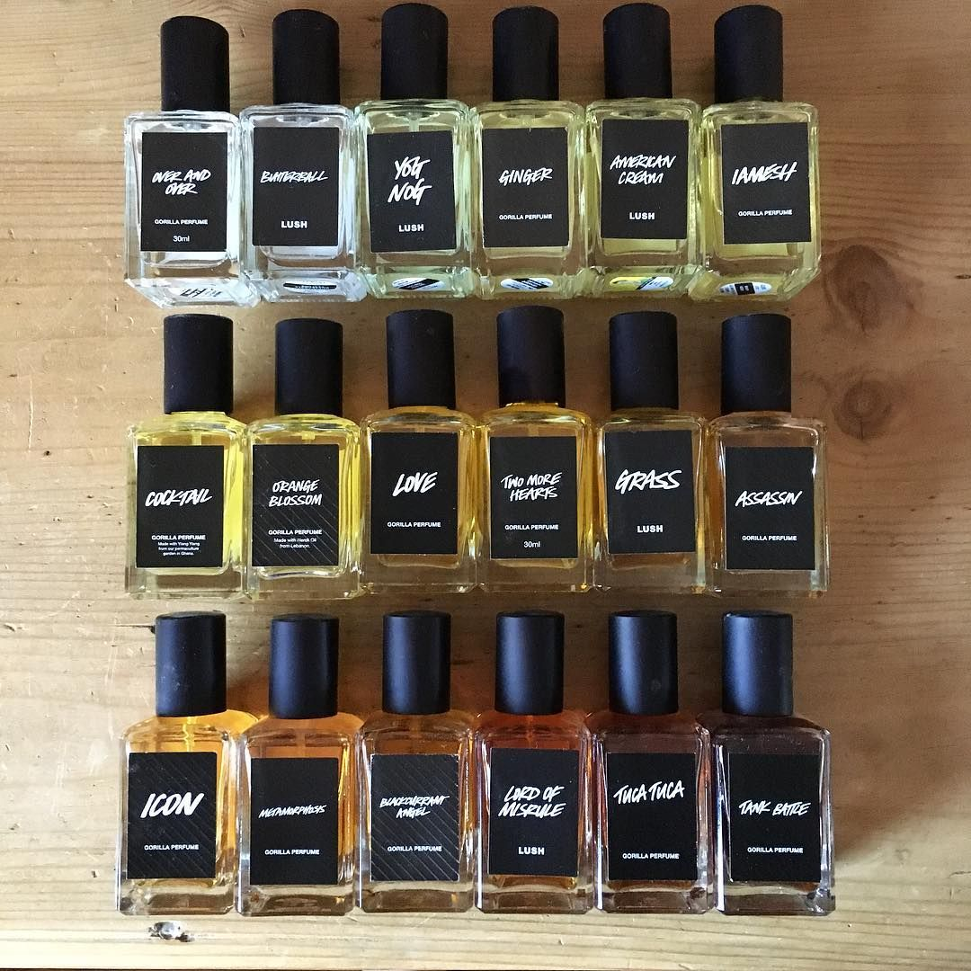 Black Label Perfumes . . . . . #Lush #LushCosmetics # ...