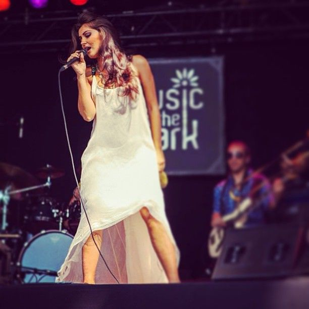 She makes me sing! @elenamandinga in #parlor at #montreux #jazzfestival #music #fashion