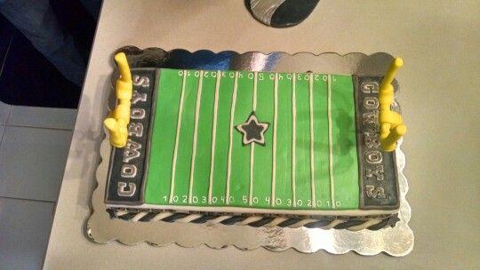 Dallas cowboy anniversary cake for my husband!