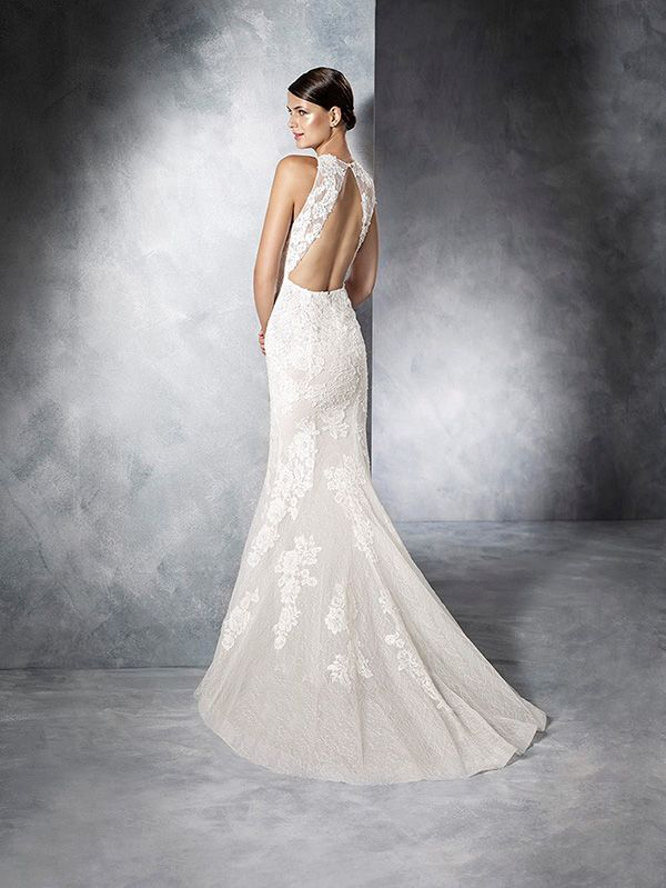 Jensen By Pronovias White One | Haute Bride   Bay Area Wedding Dress Salon