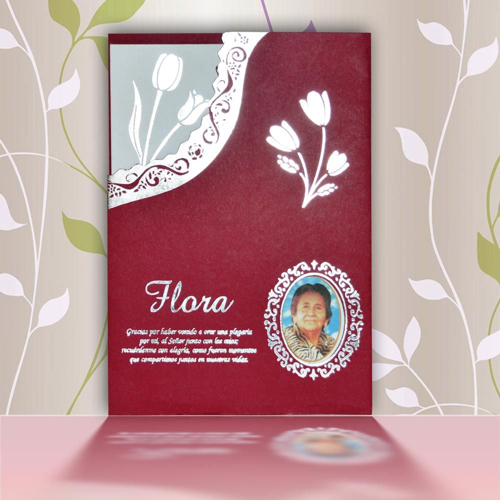 Invitación Para Misa De Honras Hr 56853 Scrapbook