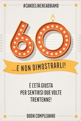 Biglietto Auguri 60 Anni Da Stampare 60 Compleanno Buon
