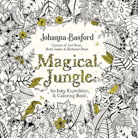 Magical Jungle Coloring Book Have This Paper Quality Is Not That Great