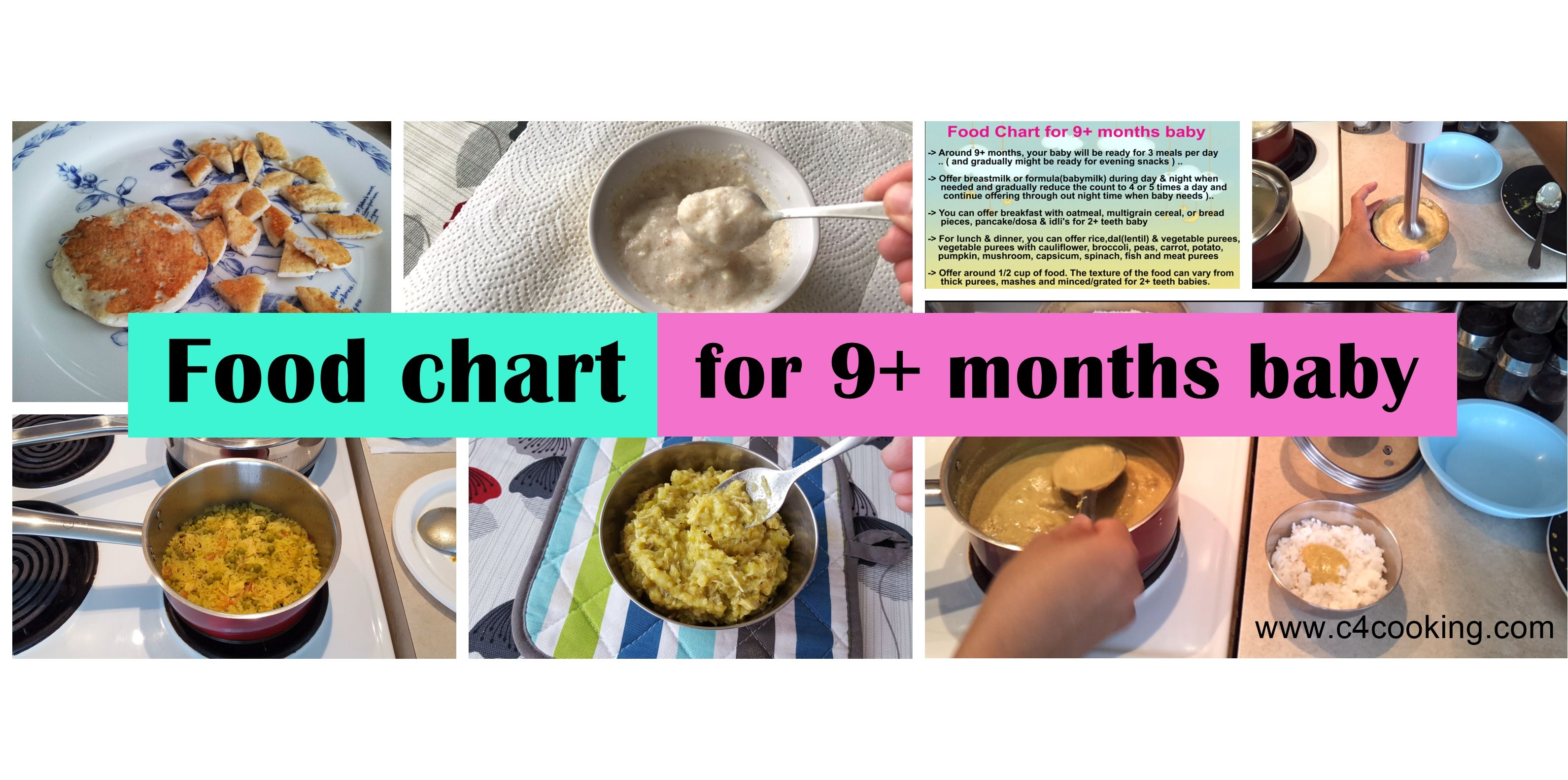 Food chart for 9 months baby with tips recipes 9 months food chart for 9 months baby with tips recipes forumfinder Choice Image