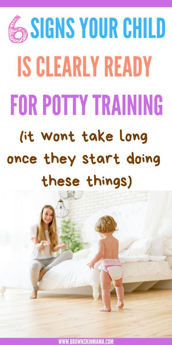 Signs Your Child is Ready to Potty Train | | Potty ...