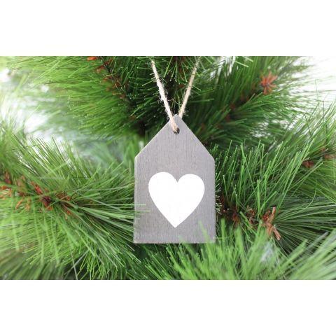 Colgante Casa Corazón | Decoración para #Navidad #Christmas #decor #homedecor #decoración