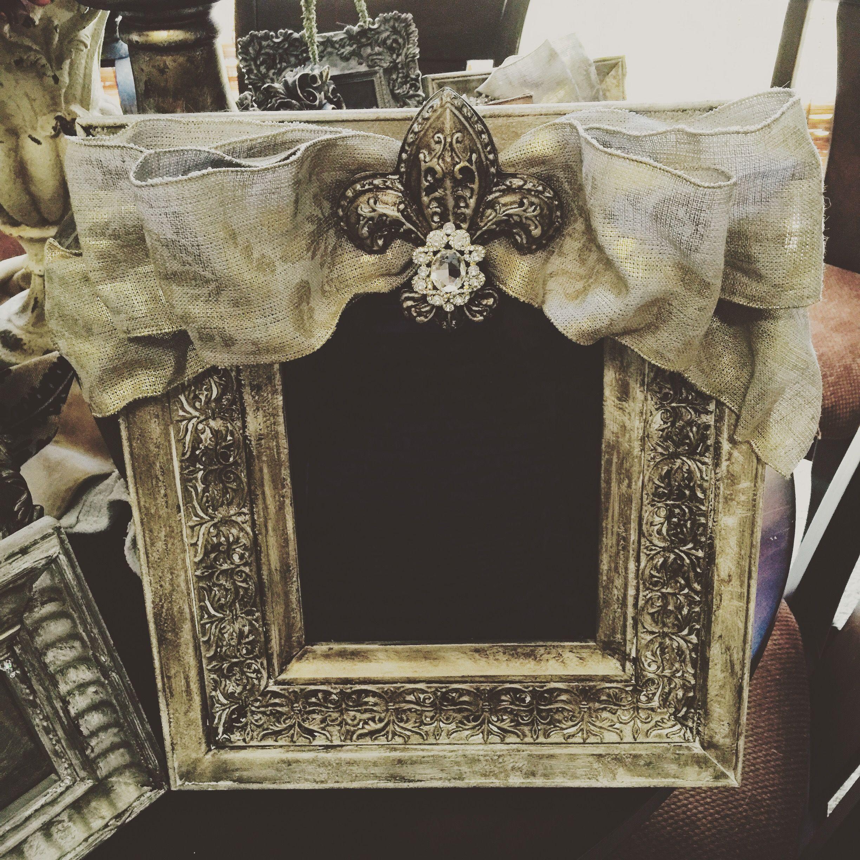 Fleur de lis frame cute frames frame picture frames