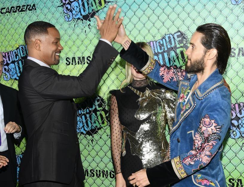 High Five: Will Smith und JaredLeto bei der Weltpremiere von