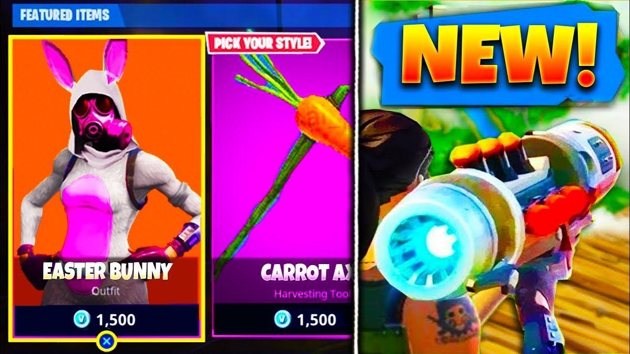 New Easter Bunny Skin Guided Missile Weapon In Fortnite Fortnite Battle Royale Skins Update 3 4 Fortnite Battle Royale Easter Bunny Bunny Fortnite